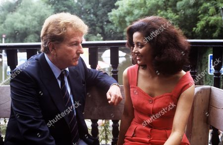 Stock Picture of Keith Barron and Emily Bolton