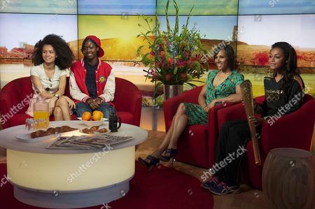 Editorial image of 'Daybreak' TV Programme, London, Britain - 30 Jul 2012