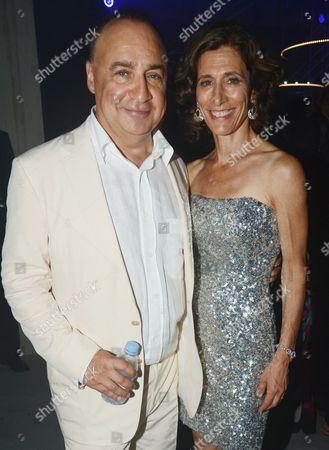 Len Blavatnik and wife