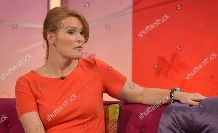 Editorial photo of 'Lorraine Live' TV Programme, London, Britain - 31 Jul 2012