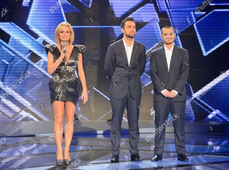 Amanda Holden, Ben Forster and Rory Taylor