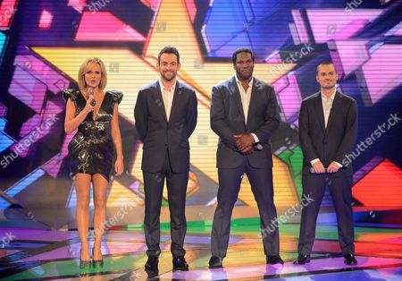 Amanda Holden, Ben Forster, Roger Wright and Rory Taylor