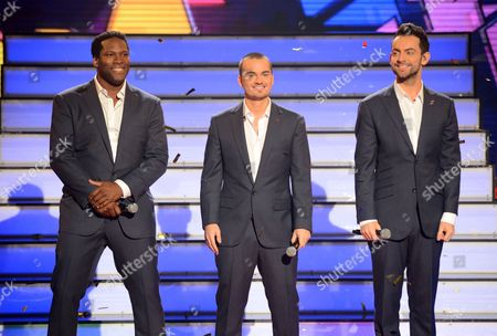 Stock Image of Roger Wright, Rory Taylor and Ben Forster