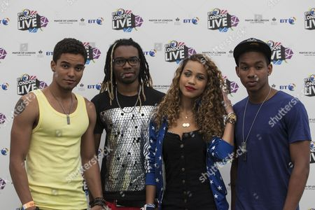 Press shots of Cover Drive at BT London Live in Hyde Park, London, 31/07/12