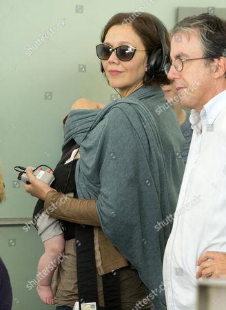 Maggie Gyllenhaal and Gloria Ray