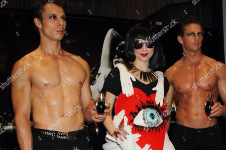 Editorial photo of Lady Gaga Fame fragrance launch, Tokyo, Japan - 01 Aug 2012