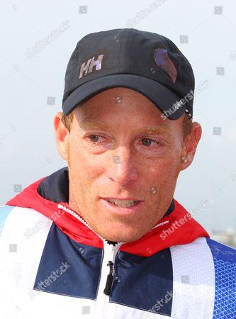 Paul Goodison Team GBR Men's Laser sailor