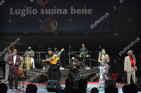 Editorial picture of Buena Vista Social Club in Concert, Rome, Italy - 31 Jul 2012