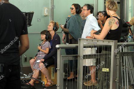 Director Naomi Foner, Ramona Sarsgaard, Maggie Gyllenhaal and Gloria Ray