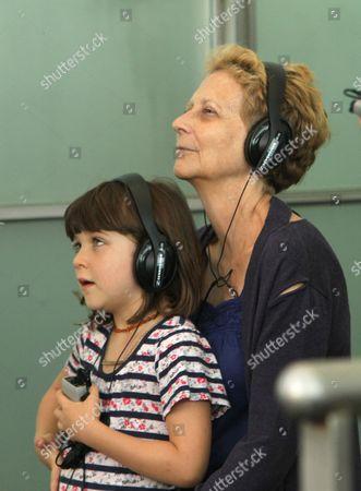 Stock Image of Ramona Sarsgaard and director Naomi Foner