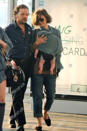 Peter Sarsgaard, Maggie Gyllenhaal and Gloria Ray