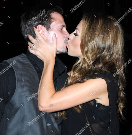 Kyle Carlson and Jessica Hall