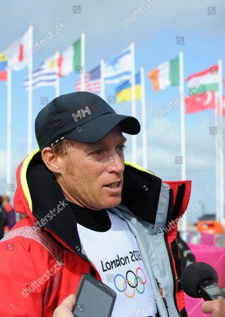 Team GB Paul Goodison who sails a Laser