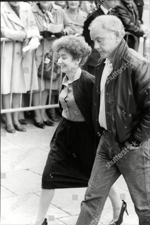 Coronation Street Actors Jennifer Moss And Kenneth Cope Arrive For The Funeral Of Actress Pat Phoenix.