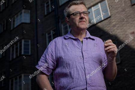 Editorial photo of Chris Larner at home in Streatham, London, Britain - 05 Apr 2012