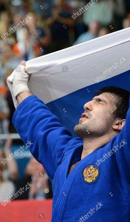 Tagir Khaibulaev of Russia - Men's Judo 100kg category