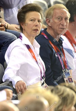 Princess Anne and David Hemery