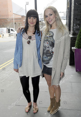 Stock Picture of Amy Downham and Holly Weston
