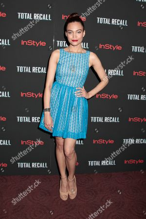 Editorial picture of 'Total Recall' film screening, New York, America - 02 Aug 2012