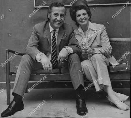 Actress Pat Phoenix (died 9/86) With Her Coronation Street Co-star Alan Browning Who Became Her Second Husband..