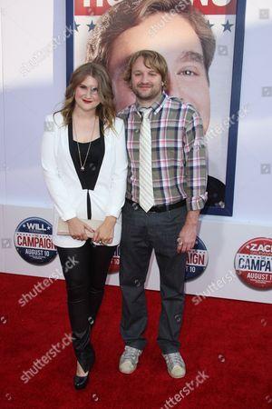 Jillian Bell and Lenny Jacobson
