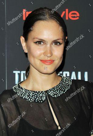 Editorial photo of 'Total Recall' film screening, New York, America - 02 Aug 2012