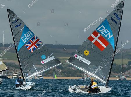 Ben Ainslie of Team GB won his forth gold after a battle with Danish sailor Jonas Hogh-Christensen