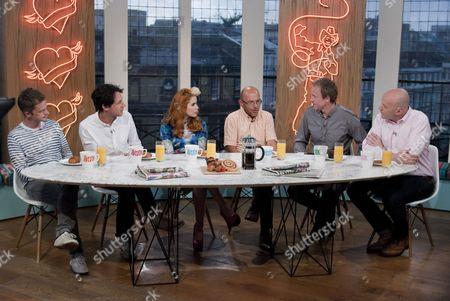 Seb Cardinal, Dustin-Demri Burns, Paloma Faith, Wayne Hemingway, Tim Lovejoy and Simon Rimmer.