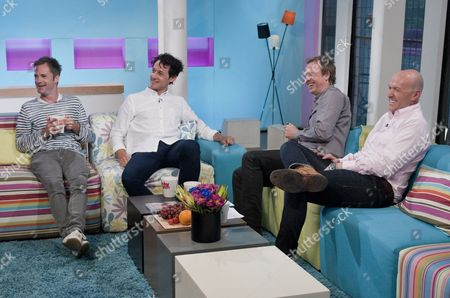 Cardinal Burns - Seb Cardinal and Dustin-Demri Burns with Tim Lovejoy and Simon Rimmer