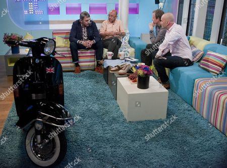 Editorial photo of 'Sunday Brunch' TV Programme, London, Britain - 05 Aug 2012