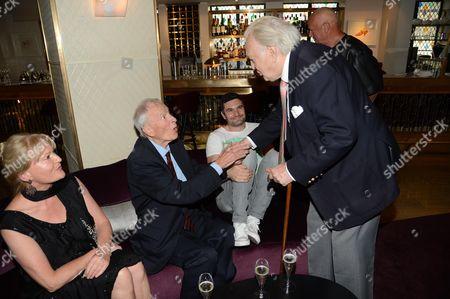 Alec McCowen and Donald Sinden
