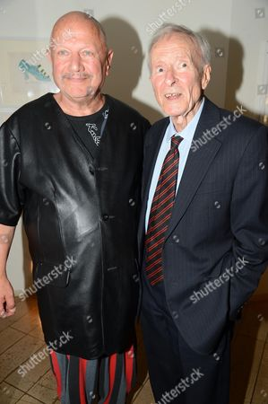 Stock Image of Steven Berkoff and Alec McCowen
