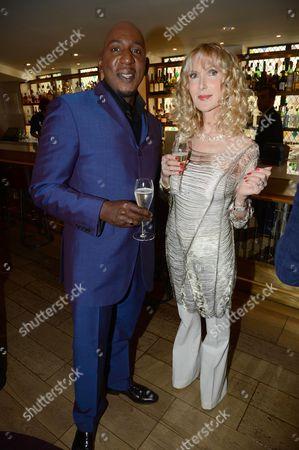 Colin McFarlane and Basia Briggs
