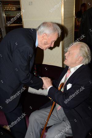 Stock Photo of Alec McCowen and Donald Sinden