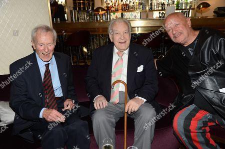 Alec McCowen, Donald Sinden and Steven Berkoff