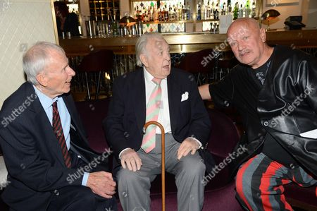 Stock Picture of Alec McCowen, Donald Sinden and Steven Berkoff