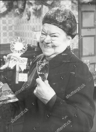 Actress Violet Carson As Ena Sharples.