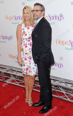 Nancy Walls and Steve Carell