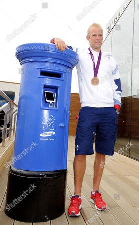 Alex Partridge, winner Olympic bronze medal for men's eight rowing.