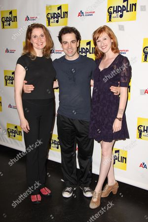 Christiane Noll, Rob McClure and Erin Mackey