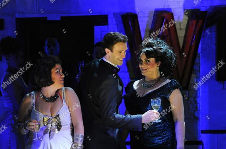 Beverley Rudd as Dana, Michael Xavier as James and Suzie Chard as Clodagh
