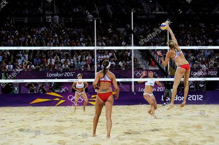 Kerry Walsh Jennings and Misty May-Treanor - women's final