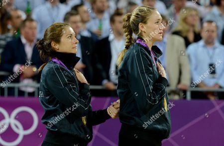 Misty May-Treanor and Kerry Walsh Jennings - women's final