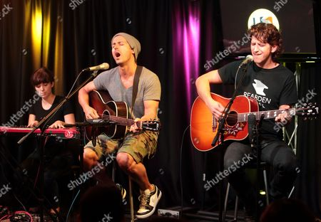 Stock Picture of Our Lady Peace - Robin Hatch, Raine Maida and Steve Mazur