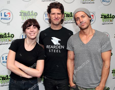 Editorial image of Our Lady Peace at the radio 104.5 iHeart Performance Theater in Bala Cynwyd, Pennsylvania, America. - 03 Aug 2012
