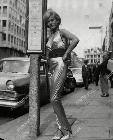 German Actress Margit Saad.