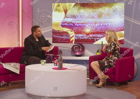 Dan Wootton and Jackie Brambles