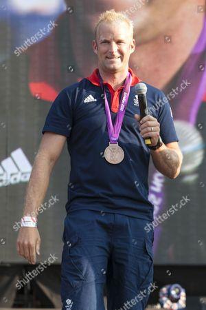 Bronze Medalist Alex Partridge
