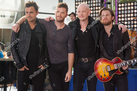 The Fray - Joe King, Ben Wysocki, Isaac Slade, Dave Welsh