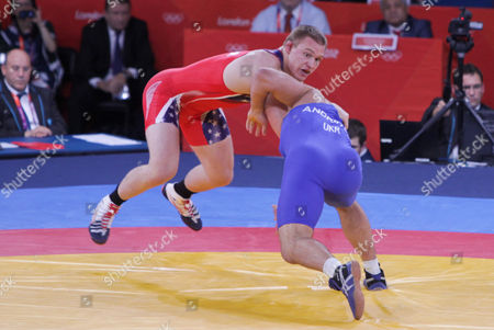 Editorial image of The 2012 London Olympic Games, Wrestling, Britain - 12 Aug 2012
